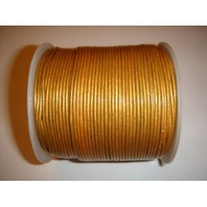Leather String 1.5mm - Gold 143