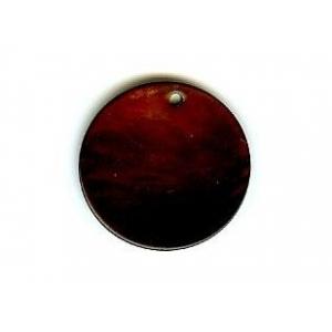 Disco Nacar 20mm - Marron Oscuro AGB-66