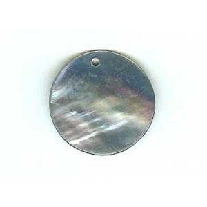 Nacre Disc 20mm - Light Blue AGB-26
