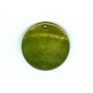 Disco Nacar 20mm - Verde Oscuro AGB-61