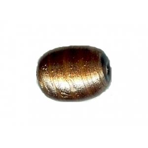 Copper Glass Small Oval