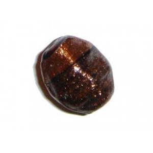 Copper Glass Irregular Nugget