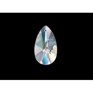 Glass Flat Drop1st 28x17mm