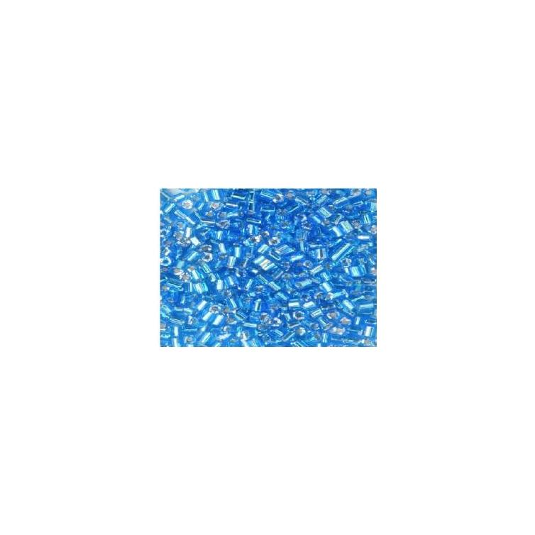 Hexagon - Light Blue Silverlined
