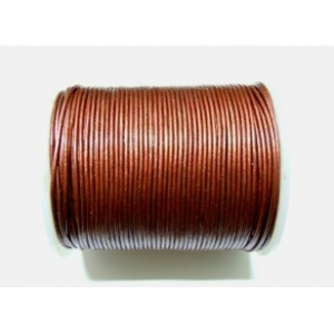 Leather String 1.5mm - Metallic Red 147