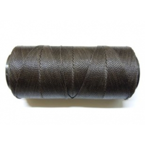 Polyester Brazilian Waxed 1mm - Dark Brown 0537