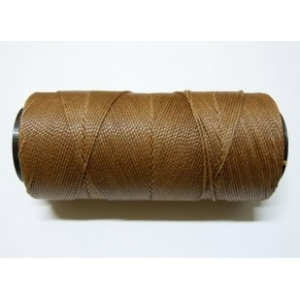 Polyester Brazilian Waxed 1mm - Medium Brown 0083