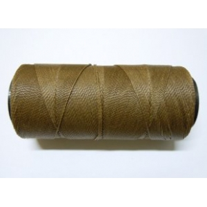 Polyester Brazilian Waxed 1mm - Medium Brown 0772
