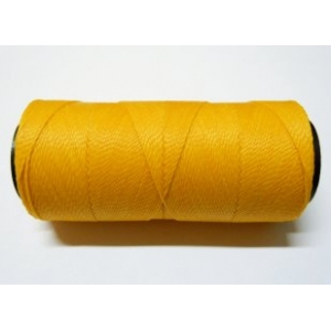 Polyester Brazilian Waxed 1mm - Yellow 0218
