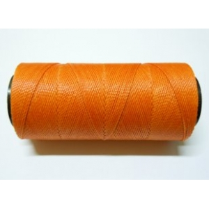 Polyester Brazilian Waxed 1mm - Orange 0030