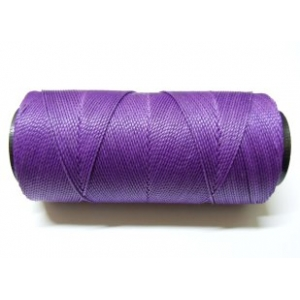 Polyester Brazilian Waxed 1mm - Dark Purple 0767