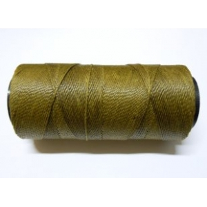 Polyester Brazilian Waxed 1mm - Khaki Green 0770