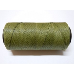 Polyester Brazilian Waxed 1mm - Olive Green 0778