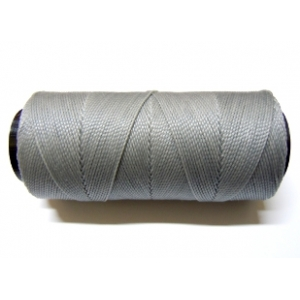 Polyester Brazilian Waxed 1mm - Grey 0075
