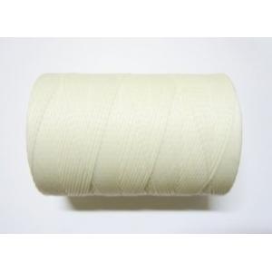 Hilo Encerado Polyester 1mm - Blanco