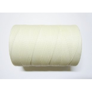 Polyester Waxed Cord 1mm - White