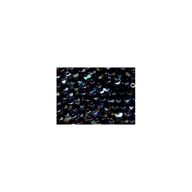 Faceted Glass Ball 4mm
