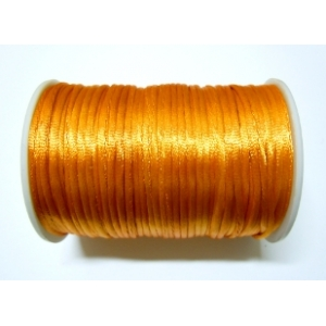 Satin Cord 2mm - Orange