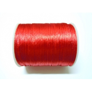 Satin Cord 2mm - Red