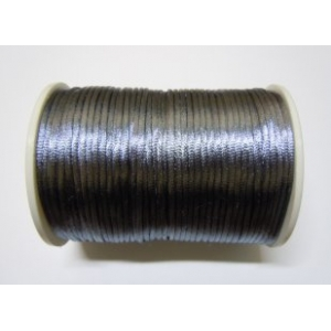 Satin Cord 2mm - Grey