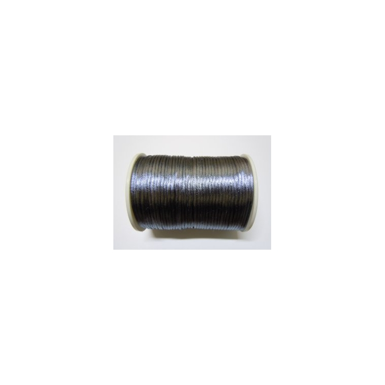 Satin Cord 2mm - Grey