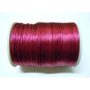 Satin Cord 2mm - Burgundy