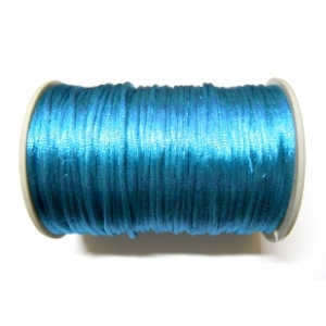 Satin Cord 2mm - Blue