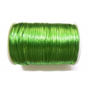 Satin Cord 2mm - Green